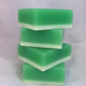 spearmint-square-soap-bar