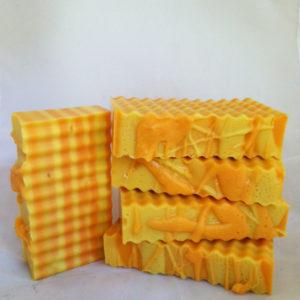 lemon-tangerine-soap-bars